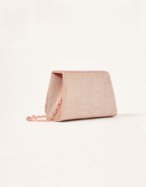 Glitter Turn-Lock Bag, , large