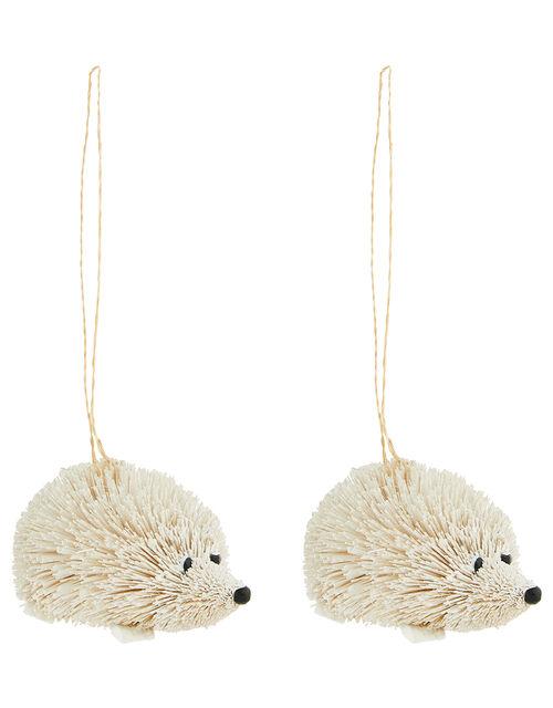 Bristle Hedgehog Decoration Set, , large