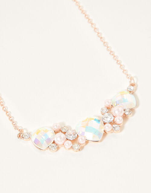 Darla Diamond Heart Jewellery Set, , large