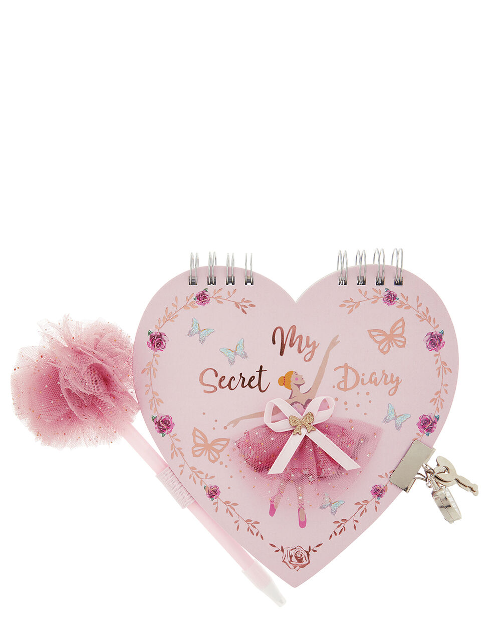 Lovely Ballerina Diary and Pen Set, , large