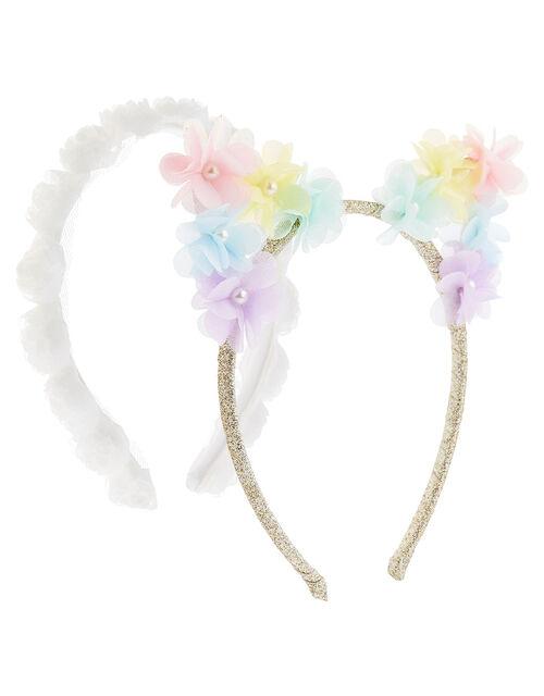 3D Flower Headband Set, , large