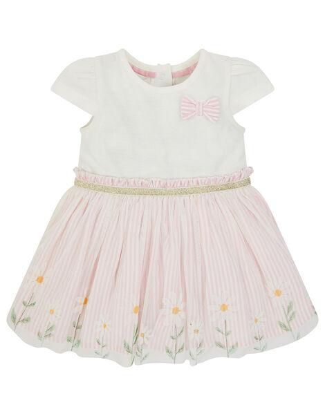 Newborn Baby Daisy Disco Dress Pink, Pink (PINK), large