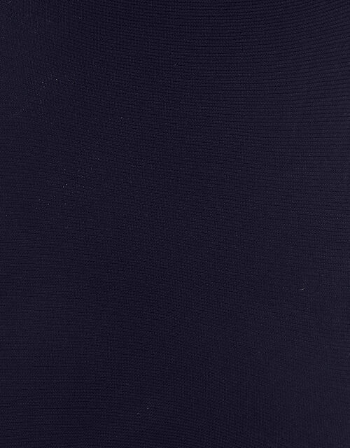 Sparkly Nylon Tights, Blue (NAVY), large