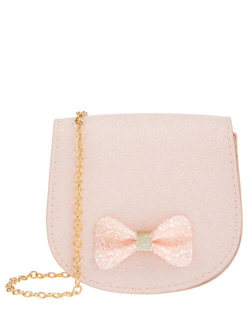 Sasha Beaded Bow Mini Bag, , large
