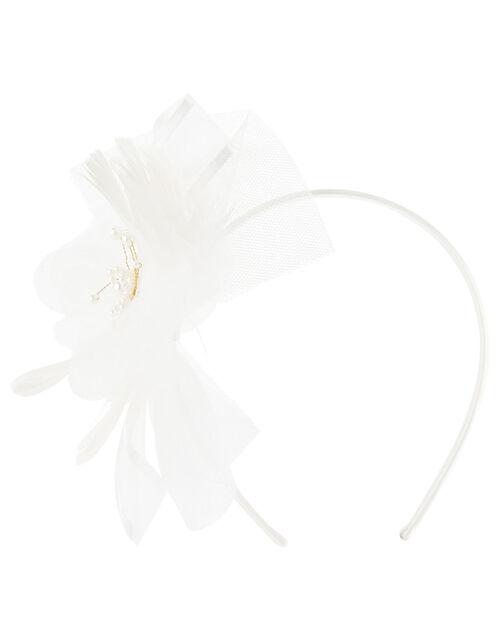 Lucy Flower Spray Headband, , large
