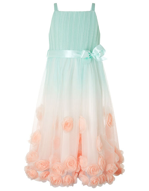Sienna 3D Rose Occasion Dress, Multi (MULTI), large