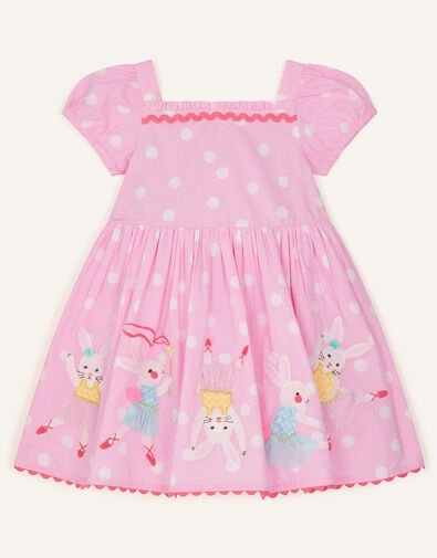 Baby Dancing Bunny Dress Pink, Pink (PINK), large