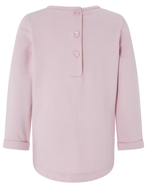 Baby Katerina Sweat Set with Organic Cotton, Pink (PINK), large