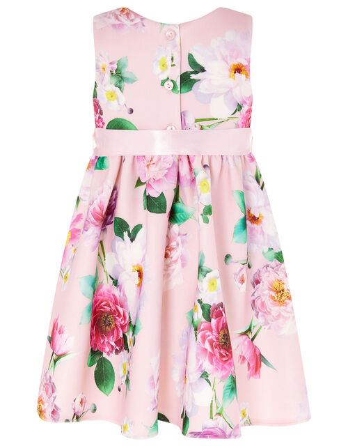 Baby Floral Scuba Dress, Pink (PINK), large