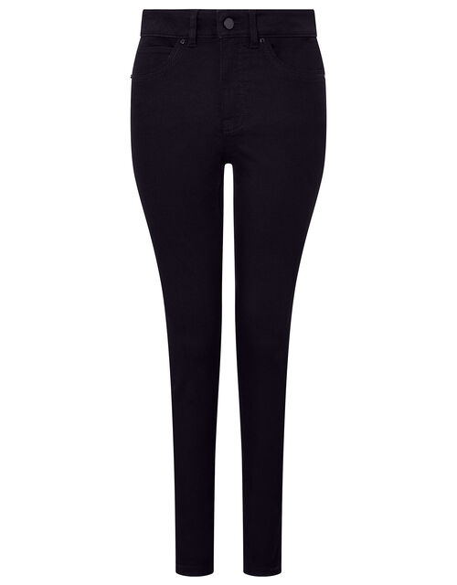Nadine Regular Length Jeans with Organic Cotton, Black (BLACK), large