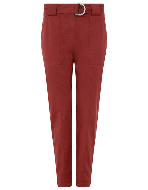 Otis Casual Tapered Trousers, Red, large