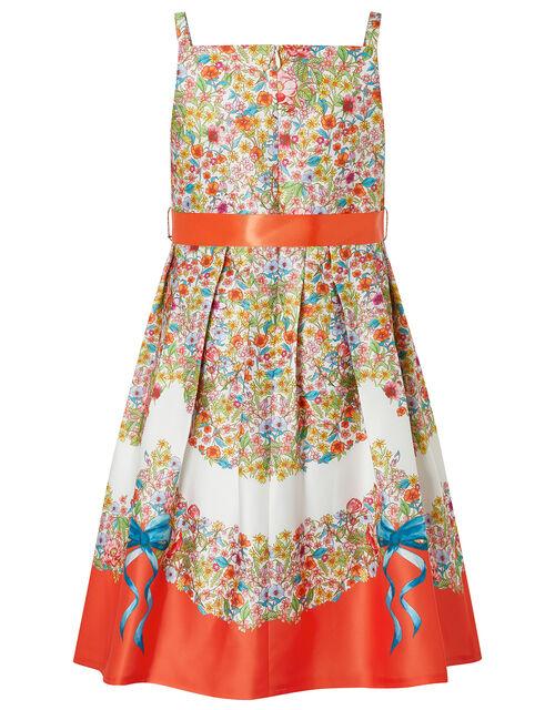 Jasmine Ditsy Floral Twill Dress, Multi (MULTI), large