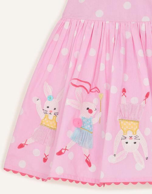 Baby Dancing Bunny Dress, Pink (PINK), large