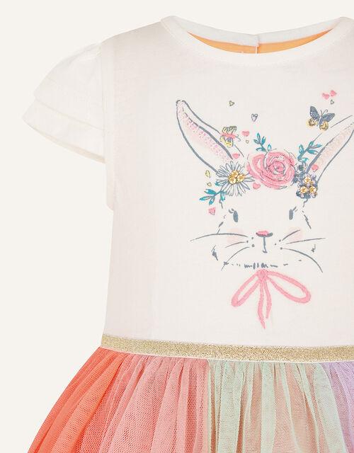 Baby Disco Bunny Dress, Multi (MULTI), large