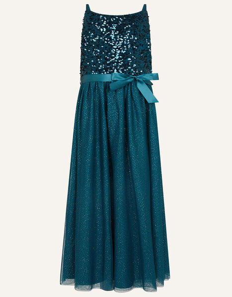 Truth Maxi Prom Dress Teal, Teal (TEAL), large