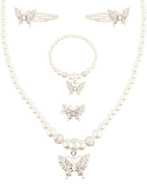 Butterfly Pearl Accessory Set, , large