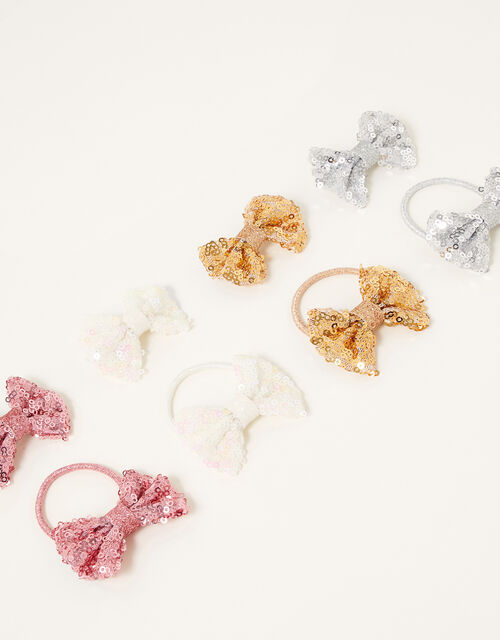 Sequin Bow Hair Accessory Set, , large