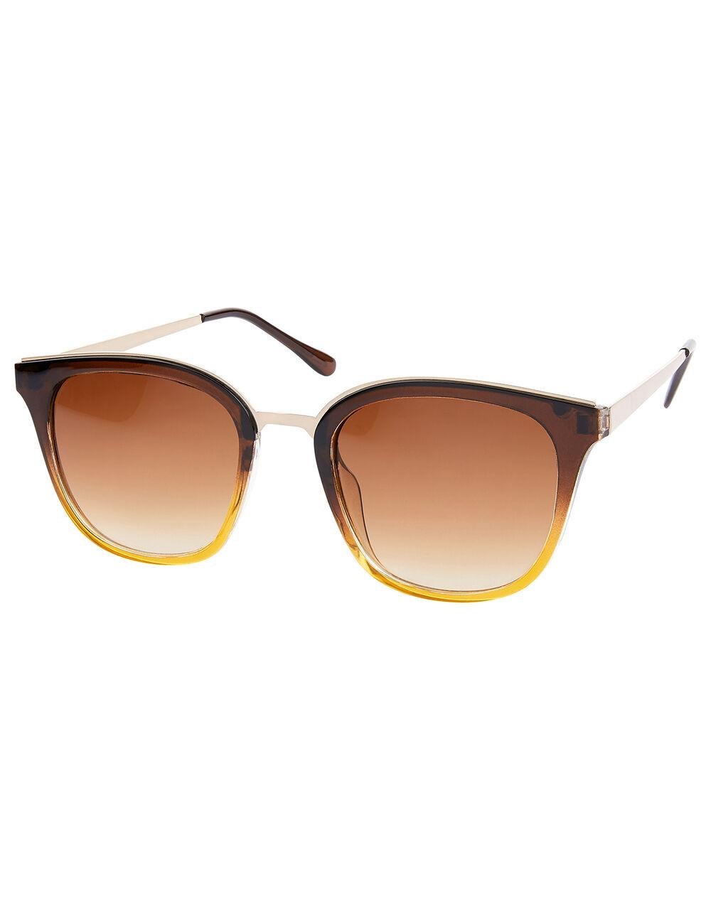 Ohio Ombre Preppy Sunglasses, , large