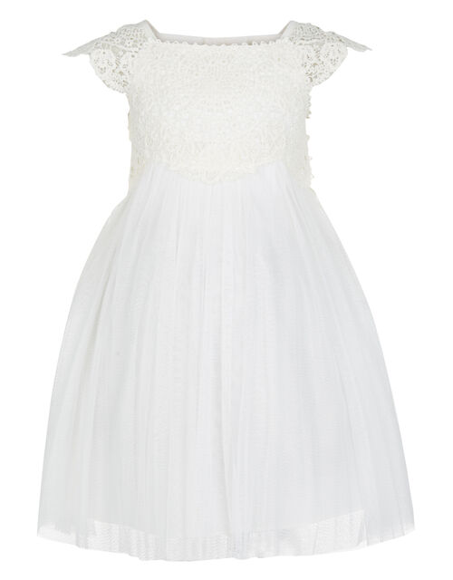 Baby Estella Dress, Ivory (IVORY), large