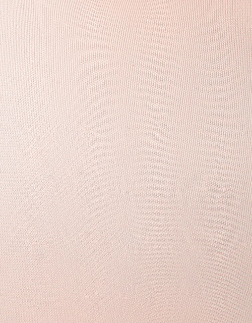 Baby Plain Nylon Tights Set, Ivory (IVORY), large