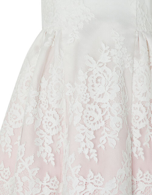 Baby Victoria Ombre Lace Dress, Pink (PINK), large