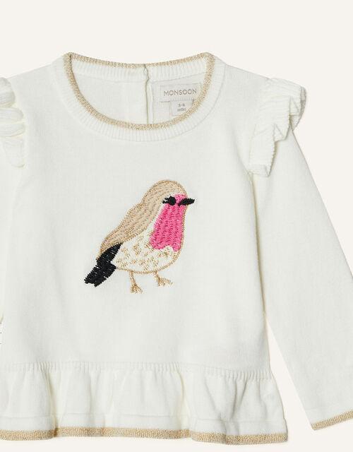 Newborn Robin Knit Set, Ivory (IVORY), large