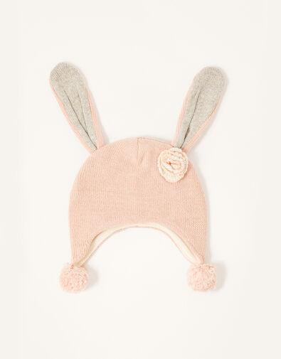 Baby Ellie Floppy Bunny Hat Pink, Pink (PINK), large