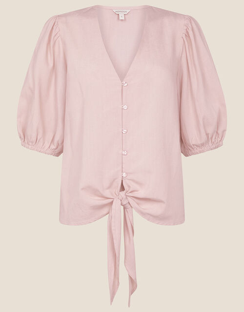 Balloon Sleeve Blouse , Pink (PINK), large
