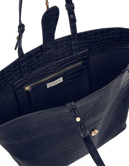 Cora Croc Shopper Bag, , large