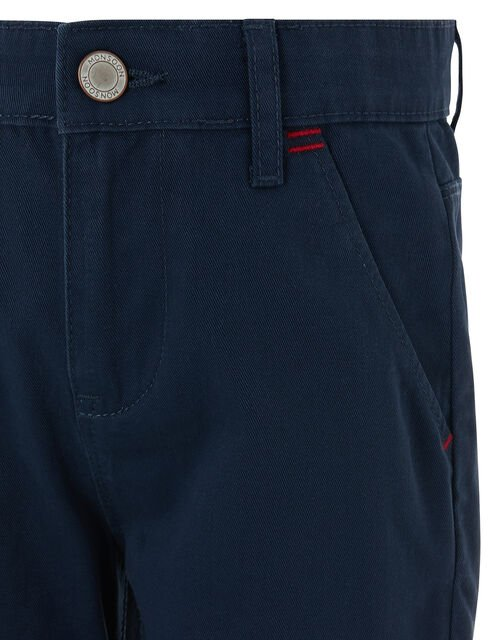Smart Chino Trousers, Blue (NAVY), large