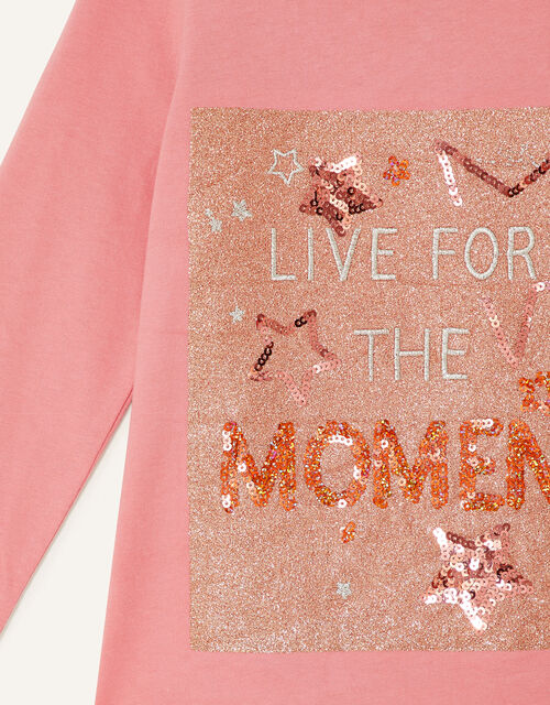 Live for the Moment Top, Nude (NUDE), large