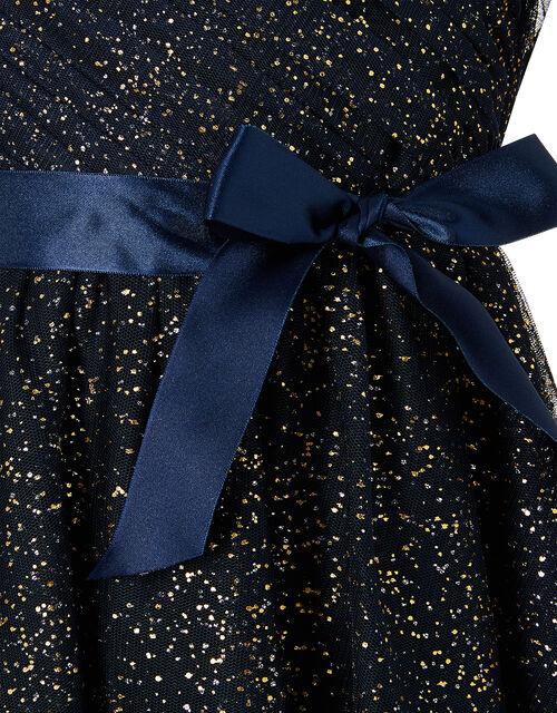 Twilight Hanky Hem Dress, Blue (NAVY), large