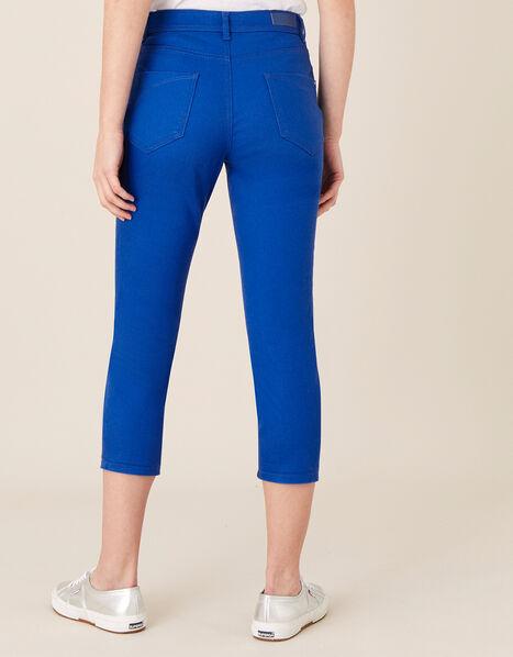 Idabella Cropped Jeans Blue, Blue (COBALT), large