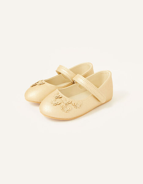 Butterfly Walker Shoes  Gold, Gold (GOLD), large