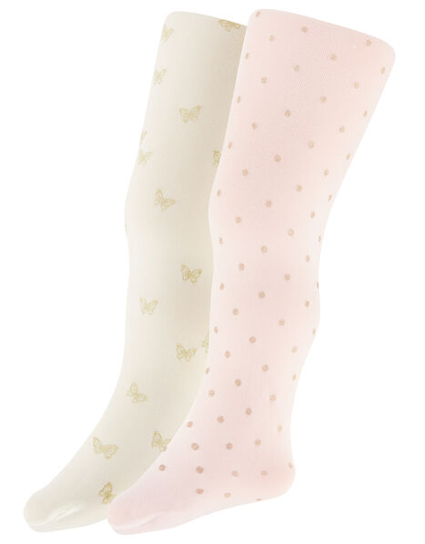 Baby Glitter Tights Set Multi, Multi (MULTI), large