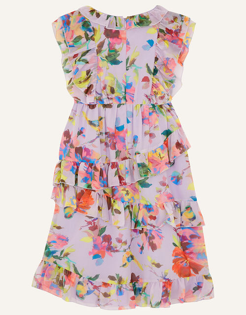 Helen Dealtry Brynn Floral Dress, Purple (LILAC), large