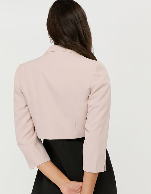 Juni Cropped Jacket, Nude (NUDE), large