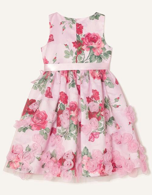 3D Rose Dress, Pink (PINK), large