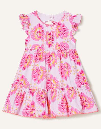 Baby Tie Dye Heart Dress  Ivory, Ivory (IVORY), large