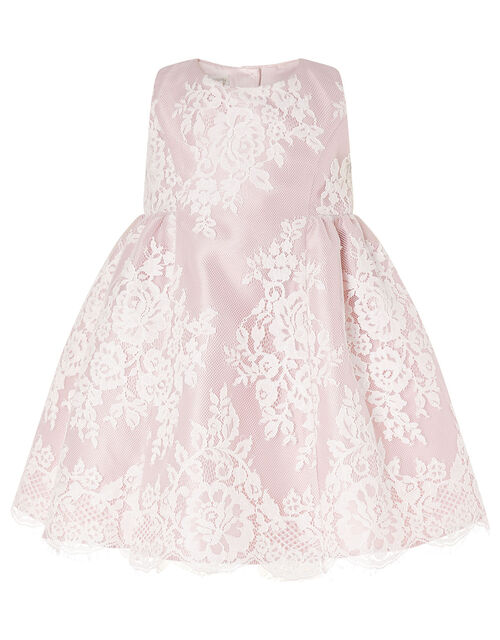 Baby Lace Dress, Pink (PINK), large