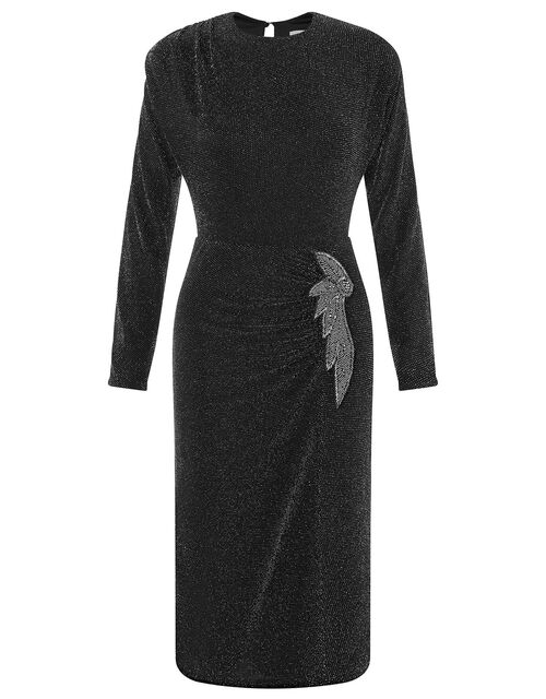 Gabriella Sparkle Dress, Black (BLACK), large