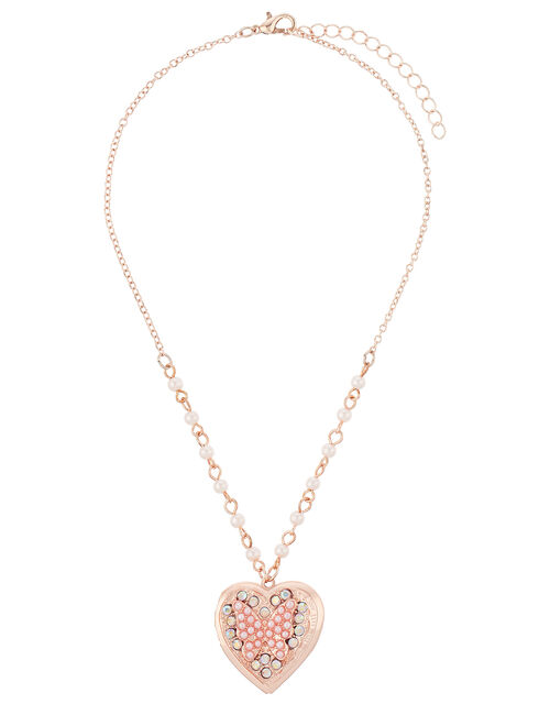 Venita Butterfly Locket Necklace, , large