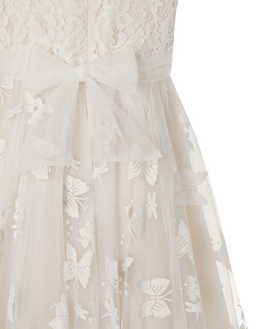 Savannah Butterfly Occasion Dress, Natural (CHAMPAGNE), large
