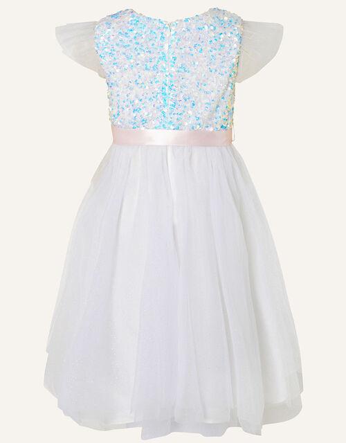 Glitzy Sequin Fairy Dress, Ivory (IVORY), large
