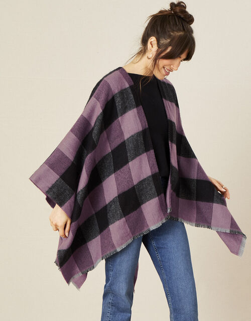Check Print Wrap Cover-Up, , large
