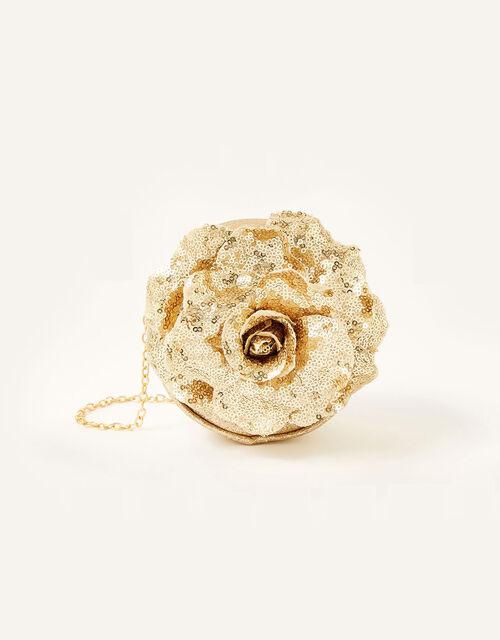 Sequin Rose Bag and Clip Set , , large
