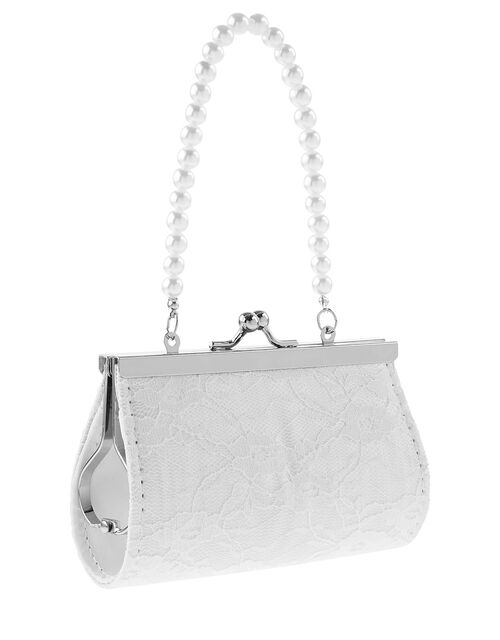 Butterfly and Lace Mini Bag, , large