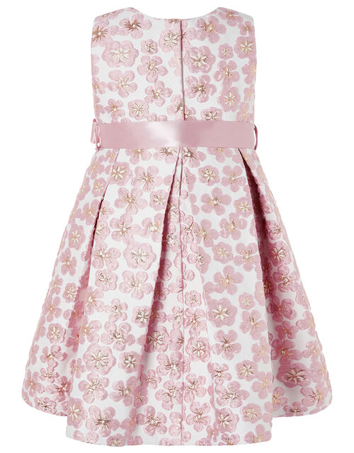 Baby Daisy Jacquard Dress, Pink (PINK), large