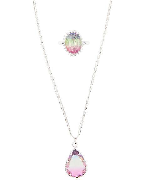 Rainbow Gem Jewellery Set, , large
