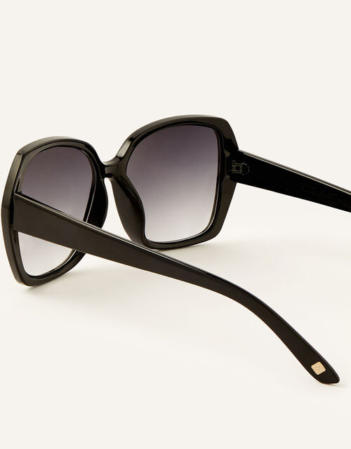 Wilda Oversized Sunglasses, Black (BLACK), large